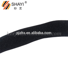 Black Polyester Hook and Loop for Coat Accessories