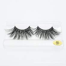 Hot Selling Mink Hair Eyelashes Extension 3D 5D 25mm Mink Lash
