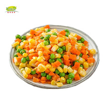 Wholesale Distribute IQF Frozen Mixed Vegetable Carrot Green Pea Green Bean Sweet Corn