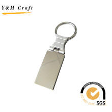 Rectangle Promotion Customized Metal Key Ring for Keychain (Y02336)