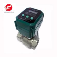 DC12V DC24V ss304 CTF-001 10nm électrique 4-20mA valve