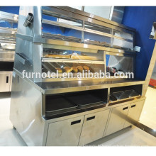 Chine Restaurant équipement 3 en 1 chauffe-aliments en acier inoxydable