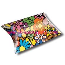 Caja de almohadas de regalo Caja de almohadas de embalaje de papel personalizado