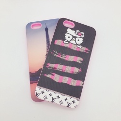 Heat Transfer OEM Design Silicone Phone Cases