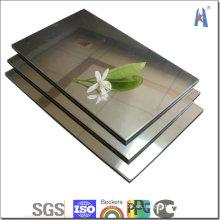 Revestimiento de pared exterior PVDF Aluminum Plastic Panel