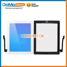 Marca nova fábrica preço para iPad 3 Touch, para iPad 3 Digitizer Touch Screen em estoque preto e branco PayPal aceita