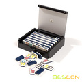 Colorful 2 Layers Double 9 Domino Set