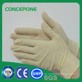 Steriled Medical Latex Examination Gloves