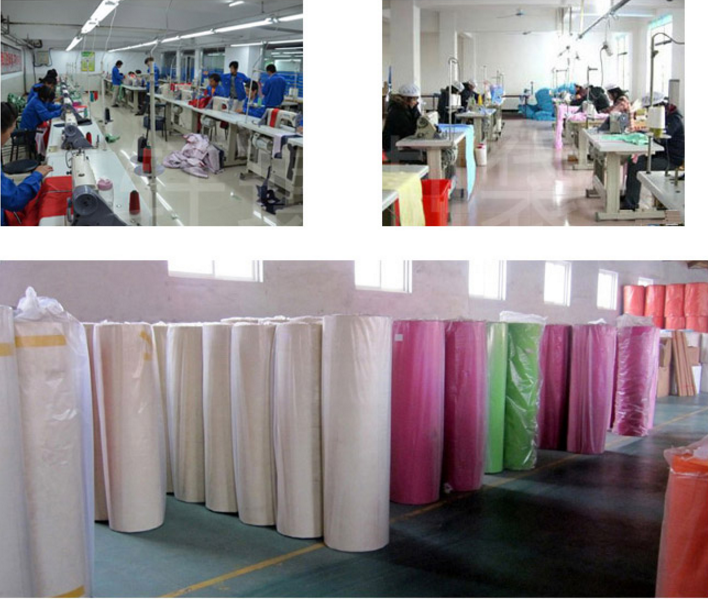 Laminated tote shopping bags producing