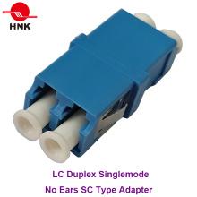 LC Duplex Singlemode Keine Ohren Sc Typ Faseroptik Adapter