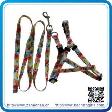 Laisse escamotable en nylon de chien de plomb d'animal familier pour des produits de loisirs