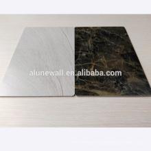 Mármol acabado paneles de pared de aluminio compuesto