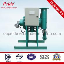 Оборудование для очистки воды водохранилища с водяным насосом