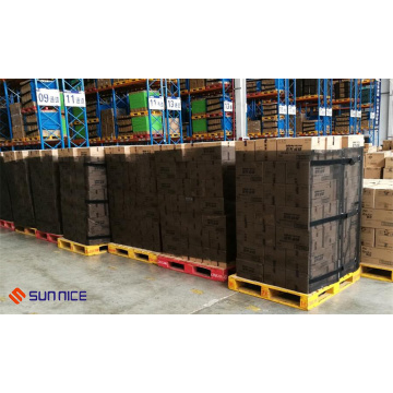 Recycled Cargo Protection Cover Wraps on Pallet