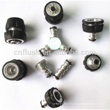 aluminum garden hose fitting for gardening and irrigation with preicison machining service