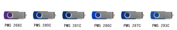 colorful pen drive