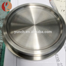 Professional Top Grade Supply Molybdenum Round Target With Tuv Certificate
