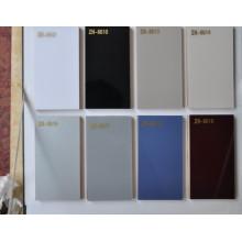 Placa branca UV do MDF da cor para a mobília do armário de cozinha