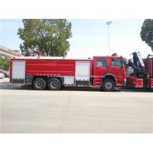 Camion de lutte contre l'incendie HOWO 6x4 10 roues