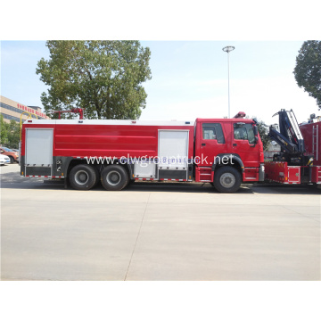 HOWO 6x4 10 wheels fire fighting truck