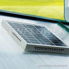 Ventilateur solaire avec thermostat