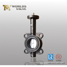 Rptfe Coated Wafer Butterfly Valve