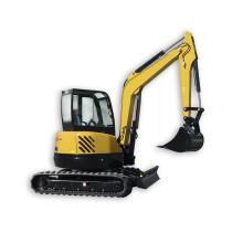 Máquina excavadora hidráulica Nueva miniexcavadora sobre orugas