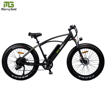 PAS Integrated Electric Fat Mountain Bike/ Big Power Electric Bicycle