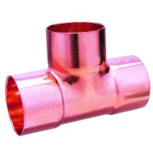 ASME Conexão de soldagem padrão Água encanamento Cobre Tee CxCxC
