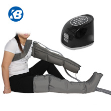 4 chamber gradient pneumatic compression  leg foot massage therapy  boots for sports recovery