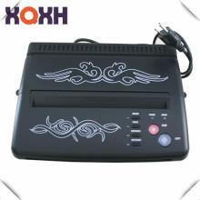 2016 tendencia de los productos de color negro tatuaje copiadora térmica, muebles de tatuaje máquina de transferencia de tatuajes