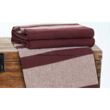Woven Woollen Virgin Merino Wool Blanket