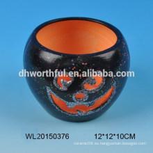 Regalo de Halloween regalo de vela de cerámica con nuevo diseño