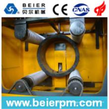Déchiqueteuse de tuyau de grand diamètre 160-1850mm et unité de concassage