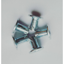 Carbon steel White Zinc Plating Propeller Nuts