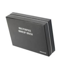 Luxury Customized logo print makeup brush set box packaging with foam insert