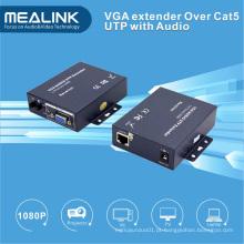 Extensor VGA sobre Cat5e UTP Cabo 100m com Auido
