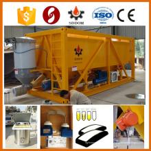 20GP tipo de contenedor horizontal silo de cemento, tipo de contenedor silo de cemento