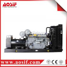 800kw grande generador de energía generador diesel de costo de fábrica, por perkins motor