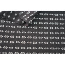 Cotton Polyester Multi Color Clip Jacquard Fabric