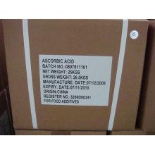 Pass ISO-Zertifikat der Herstellung von 90% Ascorbinsäure (Vitamin C, VC)