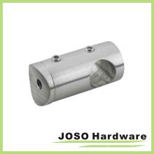 Aço inoxidável Center Standoff Connector Handrail Fittings (HDA402)