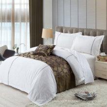 Decoración de la cama del corredor de la cama del poliester 100% al por mayor