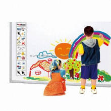 Infrared interactive whiteboard with large screen
