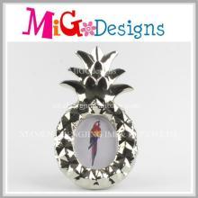 Belle cadre de photo design en céramique à ananas ancre