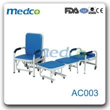 ГОРЯЧАЯ РАСПРОДАЖА!!! AC003 Удобная и компактная больница Сопроводительная кровать кресла для кресла