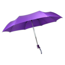 Purple guarda-chuva 3-Folding (BD-21)