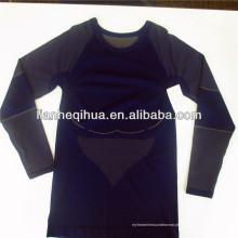 Sportswear sem emenda da luva longa dos homens, sportswear novo dos homens da forma do projeto