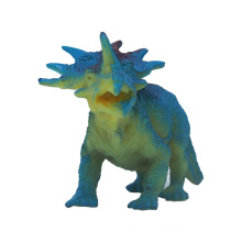 Costume engraçado do dinossauro do plástico para o bebê