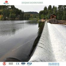 Материал EPDM надувные резиновые плотины с 15 лет трудовой жизни